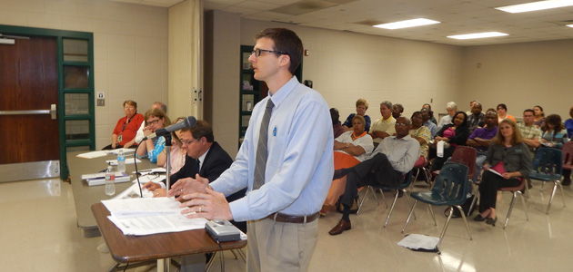 Photo of BISD BOARD MAKES PURCHASE ORDERS FOR NEW SCHOOL
