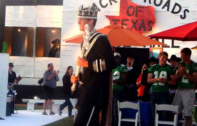 Senior King Caleb Rodenbeck is headed to Texas Tech.