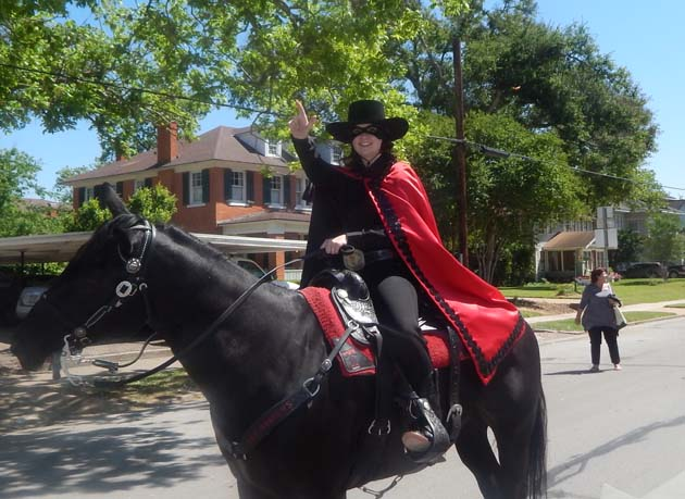 The Texas Tech Red Raider led the way for the Senior Royalty.