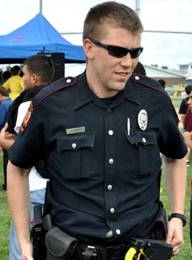 Officer Stephen Stem Courtesy: KBTX