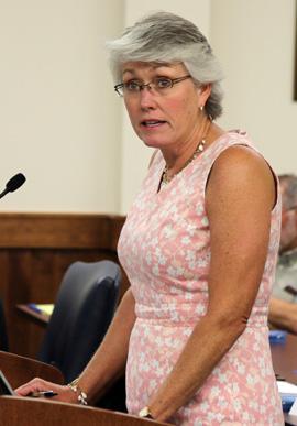Blinn Finance Officer Kelli Shomaker is expecting a budget surplus.