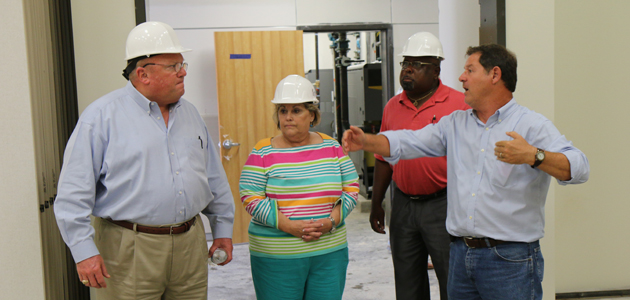 Photo of RENOVATED MIDDLE SCHOOL SHOULD BE READY FOR SCHOOL YEAR