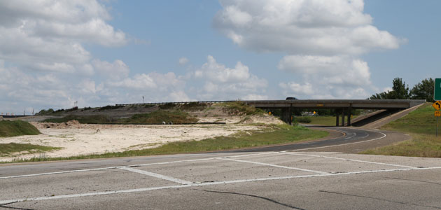 Work is expected to resume next week on the Highway-36 overpass.