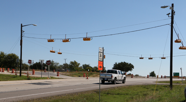 Photo of WORK ON 36 NORTH INTERCHANGE NEARLY COMPLETE