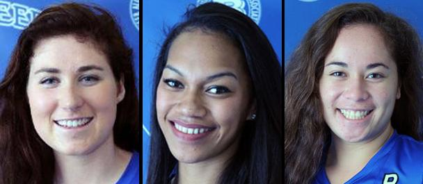 Photo of TRIO OF BUC VOLLEYBALL PLAYERS NAMED ALL-AMERICAN