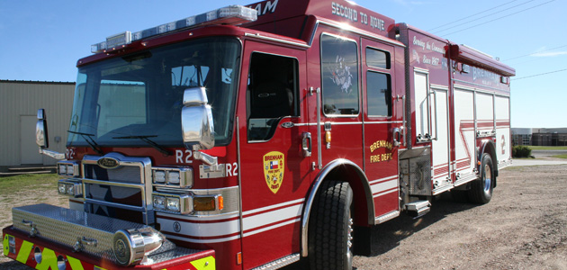 New Fire Truck feature