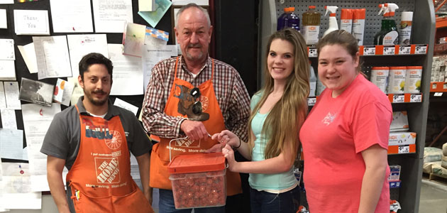 Photo of HOME DEPOT DONATES MATERIALS TO FCCLA
