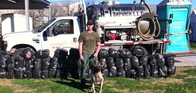 Deputy Randy Thurmann make Fayette County drug arrest Wednesday