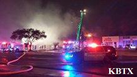 Photo of FIRE REPORTED AT CAMPUS VIEW APARTMENTS IN COLLEGE STATION IS OUT