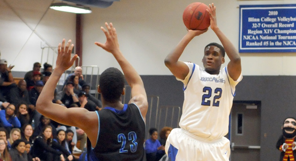 Photo of BUC MEN PULL AWAY FROM COASTAL BEND, 85-66