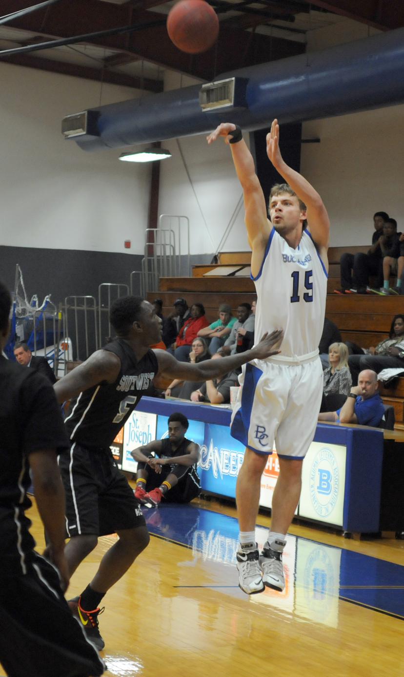 Photo of Buccaneers hold on to beat Houston Community College, 104-96