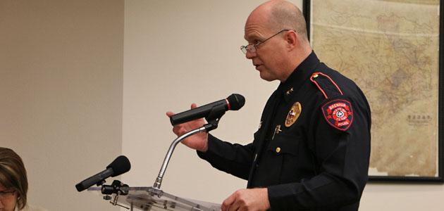 Photo of CHIEF PHELPS UPDATES COUNCIL ON ANIMAL SHELTER