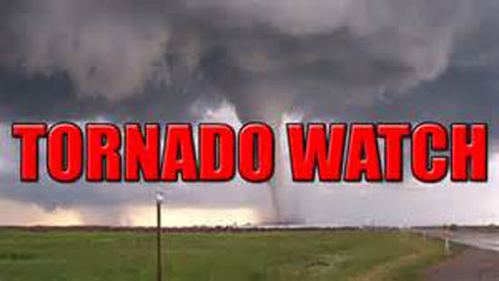 Photo of TORNADO WATCH ISSUED FOR AREA COUNTIES