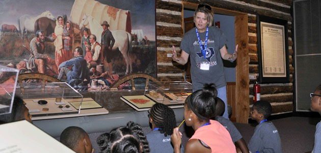 Photo of MUSEUM BRINGS HISTORY TO LIFE FOR YOUTH THIS SUMMER