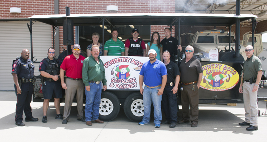 Photo of KOUNTRY BOY SAUSAGE PROVIDES LUNCH FOR BRENHAM POLICE DEPARTMENT