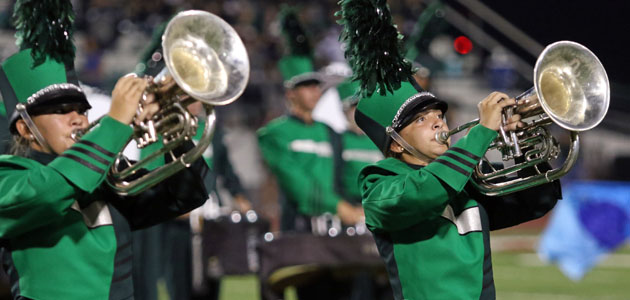 Photo of BRENHAM BAND PLACES THIRD IN AREA CONTEST
