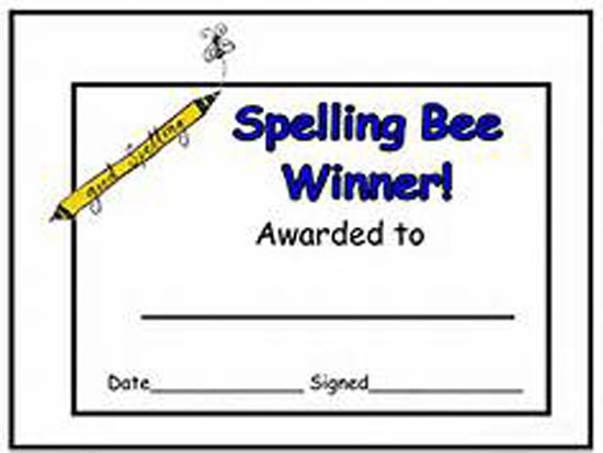 Photo of WASHINGTON COUNTY'S BEST SPELLERS TO SHOW THEIR SKILLS JANUARY 12TH