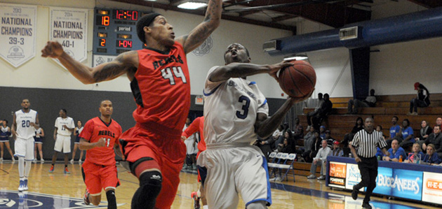 Photo of BUCS MEN FALL TO LEE COLLEGE IN OVERTIME HOOPS