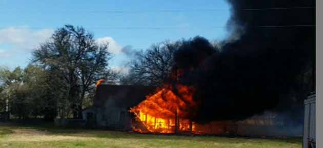 Photo of FAYETTE COUNTY HOME CATCHES FIRE