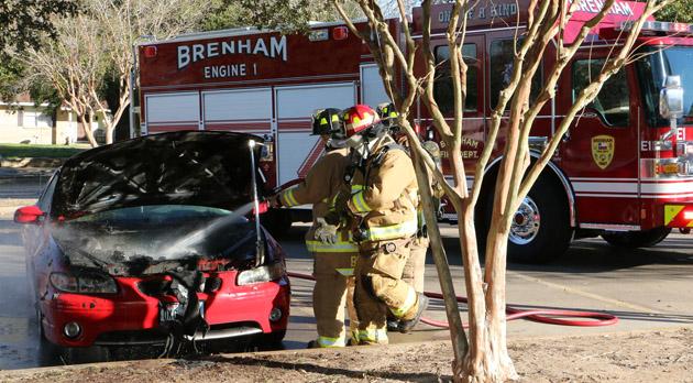 car fire story