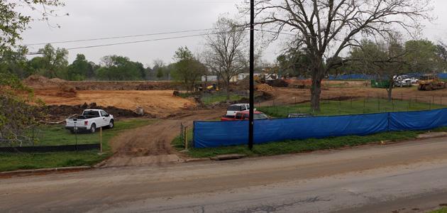 Kruse Rec Center construction feature