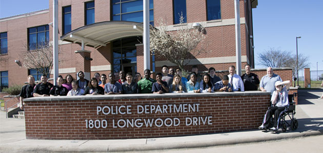 Photo of BRENHAM P.D. HOSTS CITIZENS POLICE ACADEMY FOR SPECIAL NEEDS STUDENTS