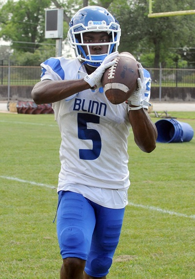 3a6fc7c48 Dominique Harrison (Photo: Jake Gordon). Buccaneers release 2017 schedule. Blinn  College football fans will get their ...