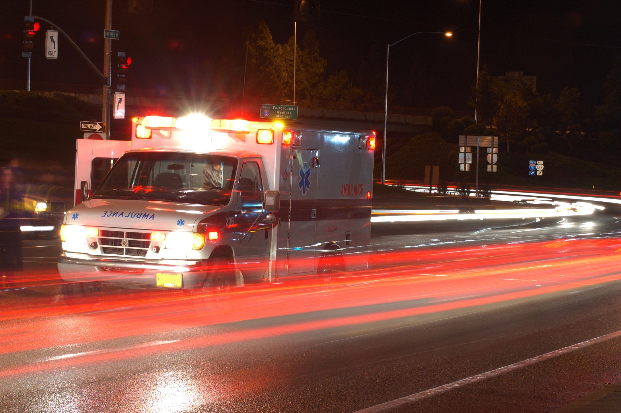 Photo of 18-WHEELER OVERTURNS ON STATE HIGHWAY 36