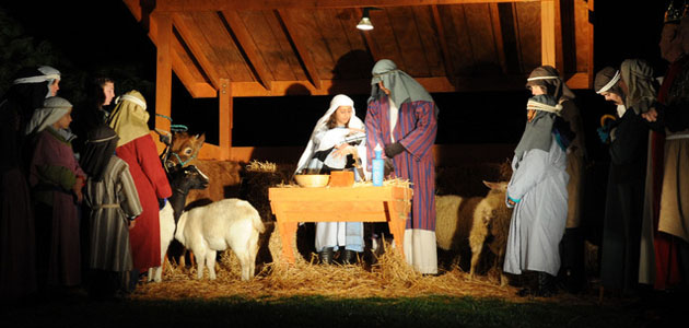 Photo of NATIVITY DISPLAYS DECEMBER 4TH, 5TH AT BRENHAM CHURCH OF JESUS CHRIST OF LATTER-DAY SAINTS