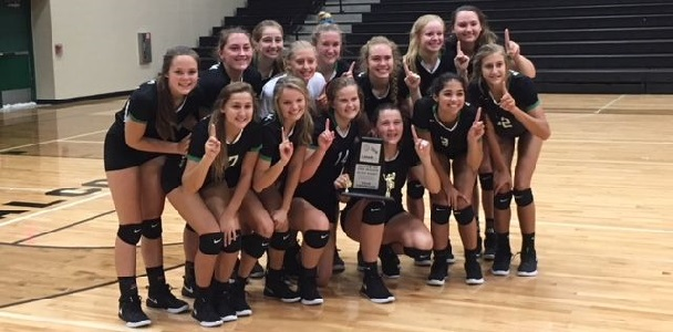 Photo of EIGHT CUBETTES RECEIVE ALL DISTRICT VOLLEYBALL HONORS