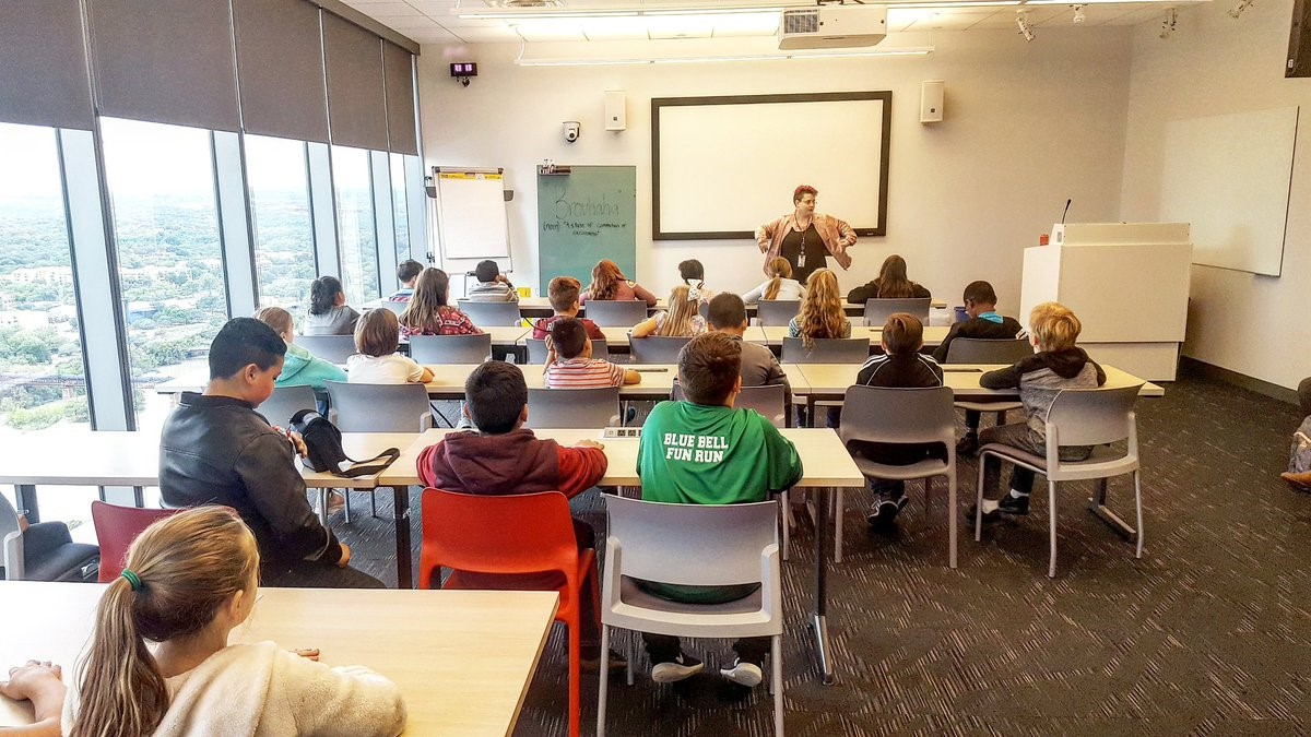 BRENHAM STUDENTS VISIT GOOGLE OFFICE IN AUSTIN | KWHI com
