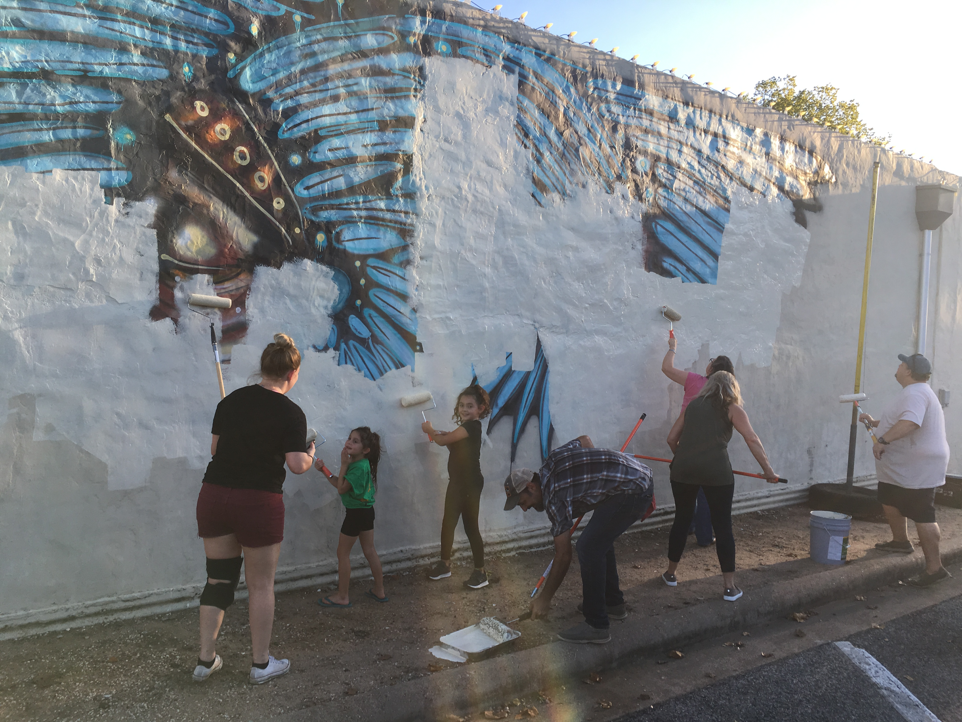 Texas Arts And Music Festival Paints Over Walls For New Murals