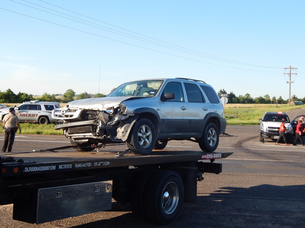NO INJURIES IN COLLISION ON HIGHWAY 290 OUTSIDE OF BRENHAM
