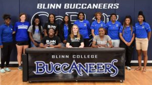 Photo of THREE BLINN WOMEN'S BASKETBALL PLAYERS SIGN WITH FOUR-YEAR PROGRAMS