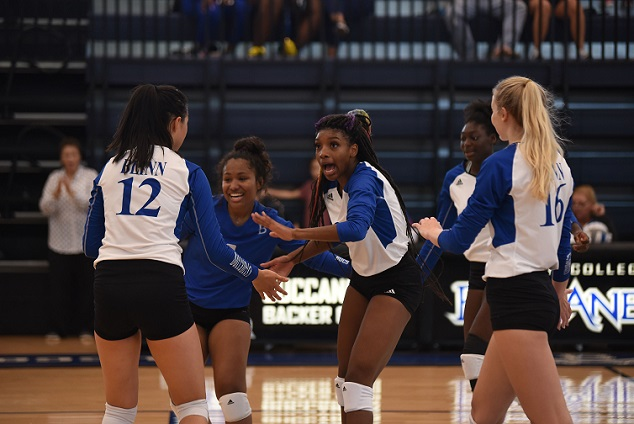 Photo of NO. 15 BUCS OPEN BLINN INVITATIONAL WITH SWEEPS OVER NEW MEXICO AND DUPAGE