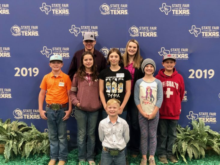 Photo of WASHINGTON CO. 4H COMPETES AT STATE FAIR OF TEXAS DAIRY JUDGING