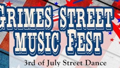 Photo of GIDDINGS CANCELS GRIMES STREET MUSIC FEST
