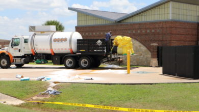 Photo of BRENHAM FIRE DEPARTMENT RESPONDS TO CHEMICAL SPILL FRIDAY