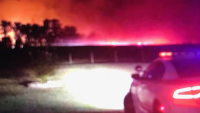 Photo of ILLEGAL DUMPING LEADS TO LARGE FIRE NEAR LaGRANGE