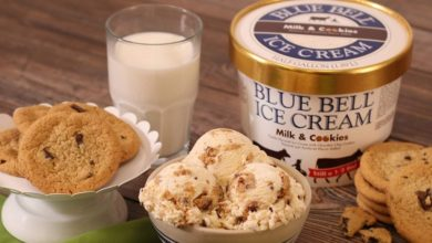 Photo of BLUE BELL BRINGING BACK MILK AND COOKIES ICE CREAM
