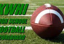 Photo of HIGH SCHOOL FOOTBALL SCOREBOARD — WEEK 4