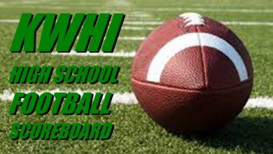 Photo of HIGH SCHOOL FOOTBALL SCOREBOARD — WEEK 3
