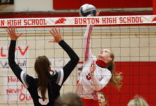 Photo of BURTON LADY PANTHERS VOLLEYBALL FALLS IN 5 SETS FRIDAY NIGHT