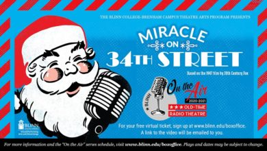 Photo of 'MIRACLE ON 34TH STREET' NEXT UP IN BLINN THEATRE SEASON