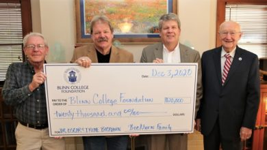 Photo of NEW BLINN ENDOWED SCHOLARSHIP HONORS BOCKHORN FAMILY