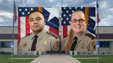 Photo of TWO SHERIFF'S OFFICE SERGEANTS RECEIVE F.B.I. AWARD