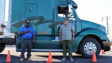 Photo of BLINN RECOGNIZES FOUR TRUCK DRIVING PROGRAM GRADUATES