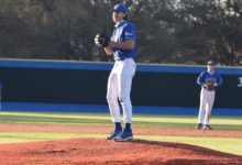 Photo of BUC BASEBALL SWEEPS ALVIN IN CONFERENCE OPENER, 6-0 10-2