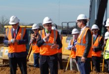 Photo of GROUNDBREAKING HELD FOR SHOPPING CENTER PROJECT, FIRST WAVE OF RETAILERS ANNOUNCED