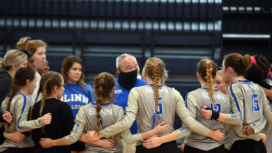 Photo of #3 BUCCANEER VOLLEYBALL PICKS UP TWO MORE WINS AT TEMPLE